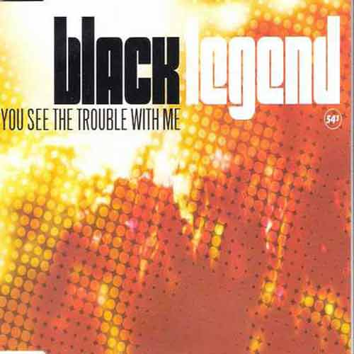 Black Legend ‎– You See The Trouble With Me (CD Maxi Single) usado (VG+) box 3