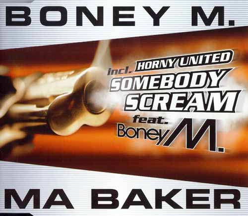 Boney M. / Horny United ‎– Ma Baker / Somebody Scream (CD Maxi Single) usado (VG ) box 2