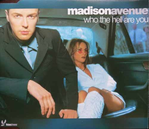 Madison Avenue ‎– Who The Hell Are You (CD Maxi Single) usado (VG+) box 4