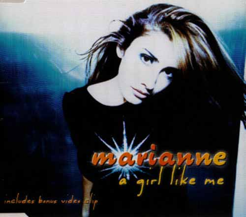 Marianne ‎– A Girl Like Me (CD Maxi Single) usado (VG+) box 3