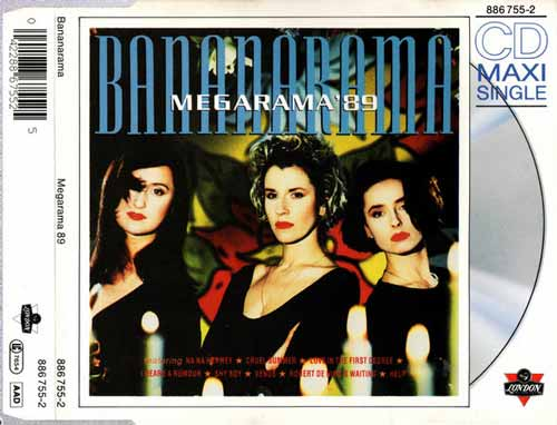 Bananarama ‎– Megarama '89 (CD Maxi Single) usado (VG ) box 2