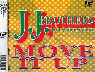 J.J. Brothers Feat. Asher Senator ‎– Move It Up (CD Maxi Single) usado (VG+) maleta