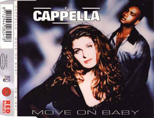 Cappella ‎– Move On Baby (CD Maxi Single) usado (VG+) box 3