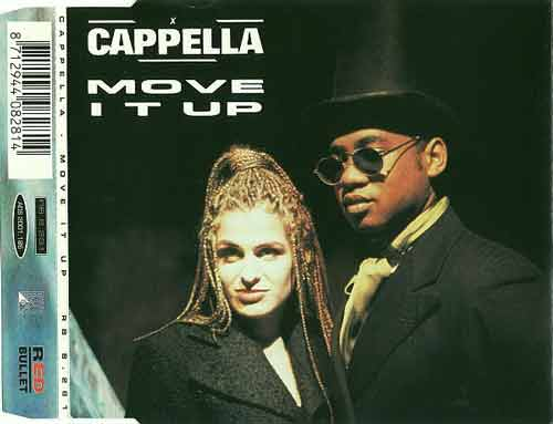 Cappella ‎– Move It Up (CD Maxi Single) usado (VG+) box 10