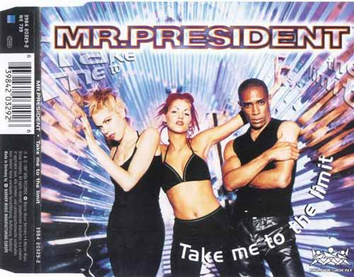 Mr.President ‎– Take Me To The Limit (CD Maxi Single) usado (VG )