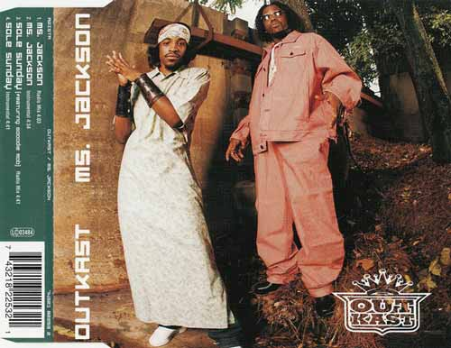 OutKast ‎– Ms. Jackson (CD Single) usado (VG+) box 9