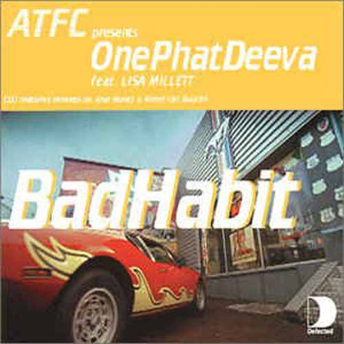 ATFC Presents OnePhatDeeva Feat. Lisa Millett ‎– Bad Habit (CD Single) usado (VG+) box 1