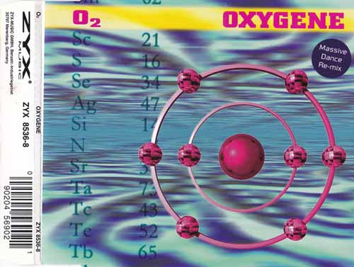 O₂ ‎– Oxygene (CD Maxi Single) usado (VG+) box 7