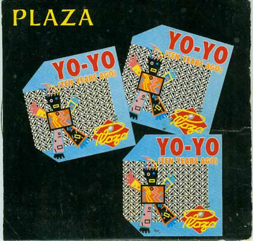 Plaza ‎– Yo-Yo (Ten Years Ago) (CD Single cartón) usado (VG+) box 6