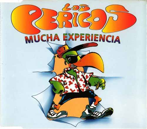 Los Pericos ‎– Mucha Experiencia (CD Maxi Single) usado (VG+) box 4