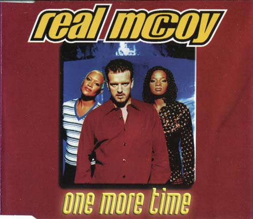 Real McCoy ‎– One More Time (CD Maxi Single usado) (VG+) box 2