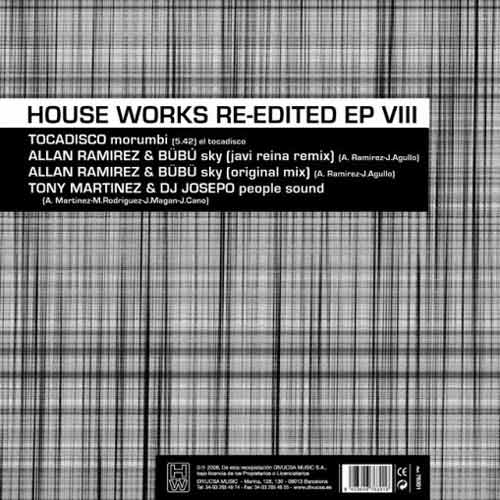 House Works Re-Edited EP VIII (Vinilo usado) (VG+)