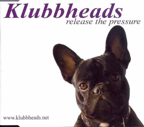 Klubbheads ‎– Release The Pressure (CD Maxi Single) usado (VG )