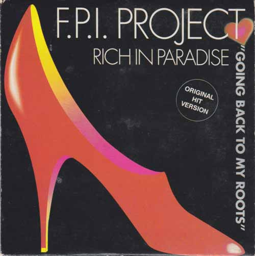 F.P.I. Project ‎– Rich In Paradise / Going Back To My Roots (CD Maxi Single cartón) usado (VG+) box 6