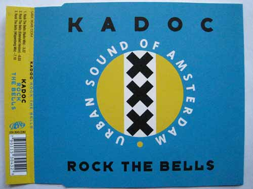 Kadoc ‎– Rock The Bells (CD Maxi Single) usado (VG ) box 2