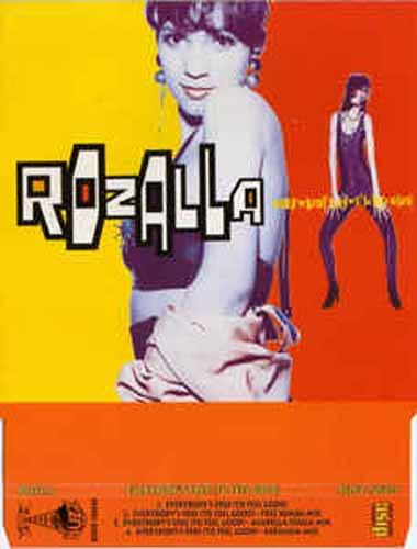Rozalla ‎– Everybody's Free (To Feel Good) (CD Maxi Single) usado (VG+) box 7