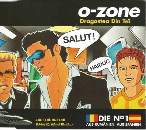 O-Zone ‎– Dragostea Din Tei (CD Maxi Single) usado (VG+) box 3