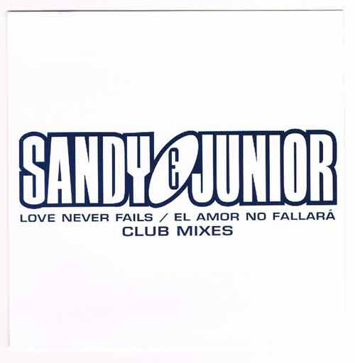 Sandy & Junior ‎– Love Never Fails / El Amor No Fallará (CD EP Promo) usado (VG+) box 2