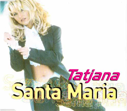Tatjana ‎– Santa Maria (CD Maxi Single) usado (VG+) box 4