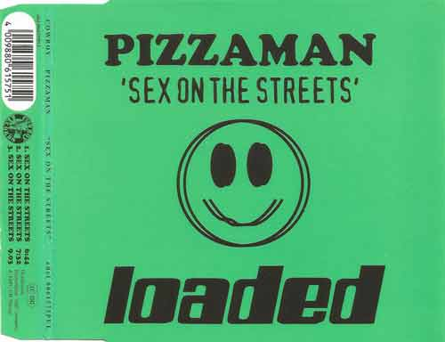 Pizzaman ‎– Sex On The Streets (CD Maxi Single) usado (VG+) box 2