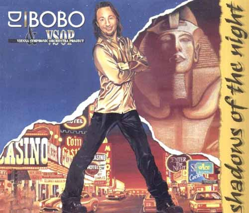 DJ BoBo & VSOP ‎– Shadows Of The Night (CD Maxi Single) usado (VG ) box 7