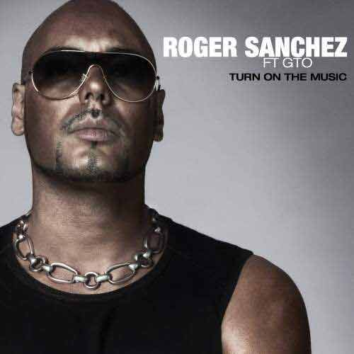Roger Sanchez ‎– Turn On The Music (CD Single Carton) usado (VG+) box 6