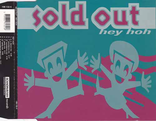 Sold Out ‎– Hey Hoh (CD Maxi Single) usado (VG+) box 4
