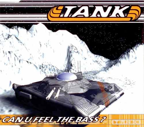 Tank ‎– Can U Feel The Bass? (CD Maxi Single) usado (VG+) box 9