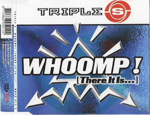 Triple S ‎– Whoomp! (There It Is...) (CD Maxi Single) usado (VG+) box 9