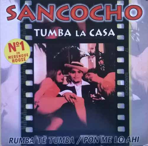 Sancocho ‎– Tumba La Casa / Rumba Te Tumba / Pon Me Lo AhÍ (CD Maxi Single) usado (VG+) box 10