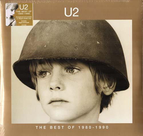 U2 ‎– The Best Of 1980-1990 (Vinilo doble nuevo)