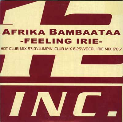 Afrika Bambaataa ‎– Feeling Irie (CD Maxi Single) usado (VG+) box 11