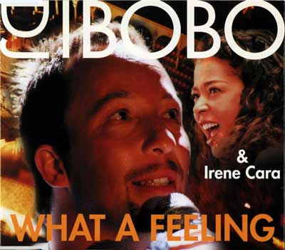 DJ BoBo & Irene Cara ‎– What A Feeling (CD Maxi Single) usado (VG+) box 10