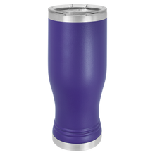 Load image into Gallery viewer, Pilsner Tumbler with Clear Lid