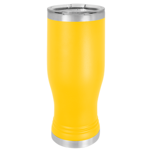 Pilsner Tumbler with Clear Lid