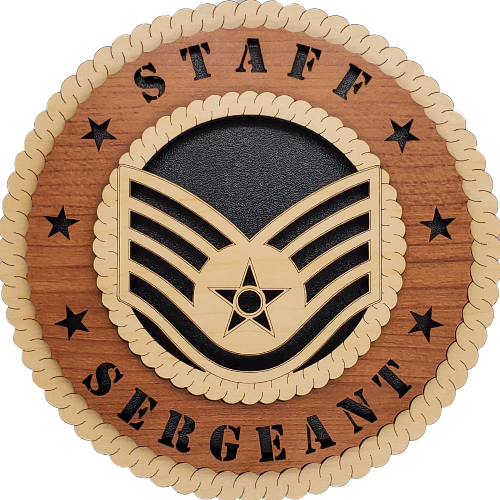 U.S. AIR FORCE STAFF SERGEANT