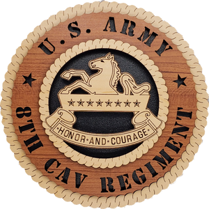 U.S. ARMY 8TH ARMORED CAVALRY REGIMENT