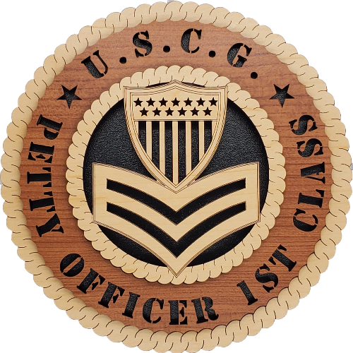 U.S.C.G. PETTY OFFICER 1ST CLASS