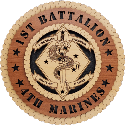 U.S. MARINES 1ST BATTALION 4TH MARINES
