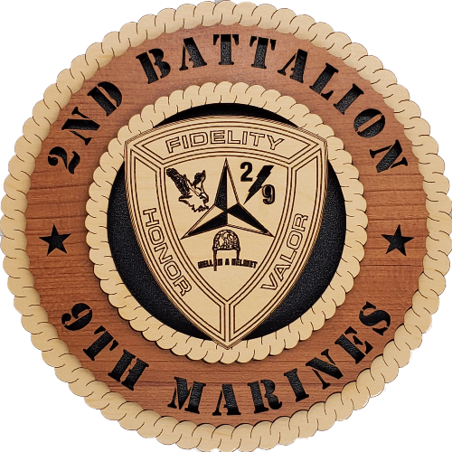 U.S. MARINES 2ND BATTALION 9TH MARINES