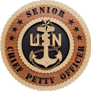 U.S. NAVY SENIOR CHIEF PETTY OFFICER