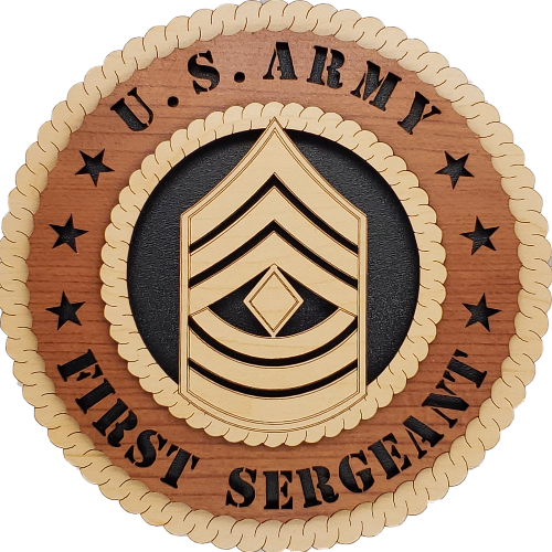 US ARMY FIRST SERGEANT