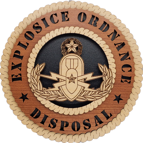 US ARMY MASTER EXPLOSIVE ORDNANCE DISPOSAL