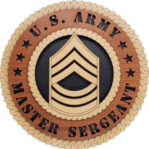 US ARMY MASTER SERGEANT