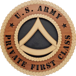 US ARMY PRIVATE FIRST CLASS