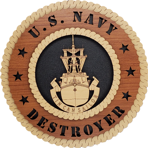 US NAVY DESTROYER TIN CAN SAILOR