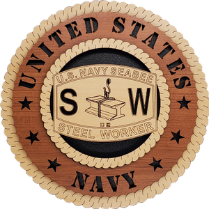 US NAVY SEABEE STEEL WORKER (SW)