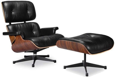 Eames Lounge Chair and Ottoman Set