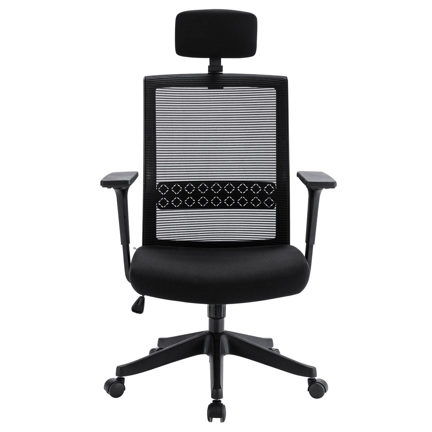 Ergonomic Office Chair Adjustable Headrest