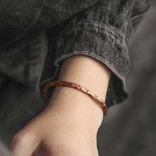 Load image into Gallery viewer, DEUS. Self-Esteem Copper Bracelet